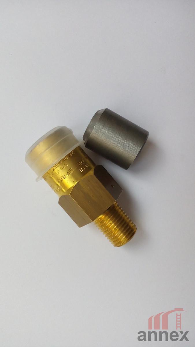 Клапан предохранительный сбросной для трубопровода ¼»