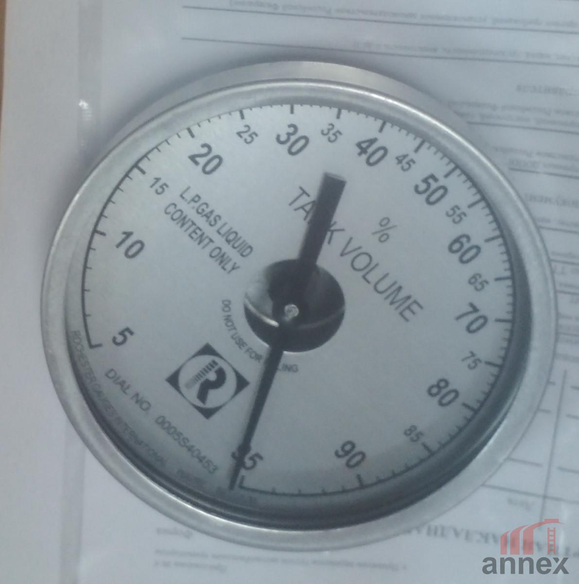 Табло для уровнемера Senior (Сеньор) диаметр 100 мм.